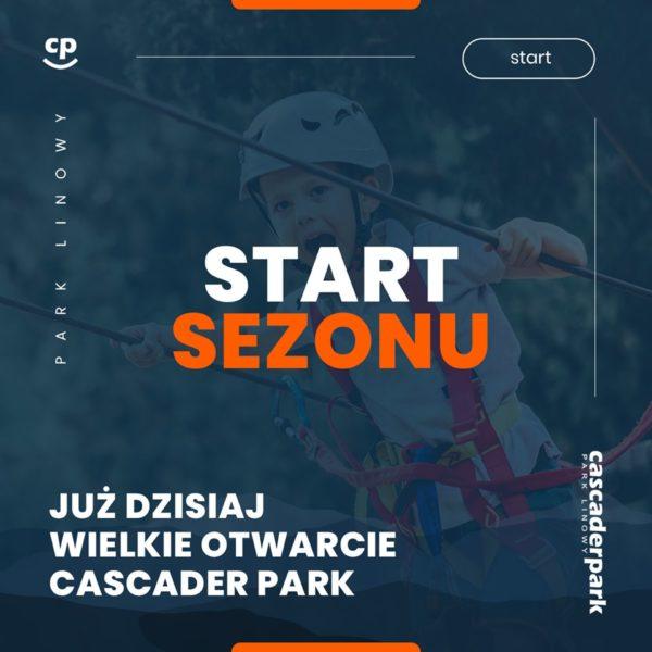Zapraszamy w 2019 do Cascader Parku.
